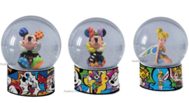 Mickey - Minnie - Tinker Bell Set van 3 Waterbal H13cm Disney by Britto