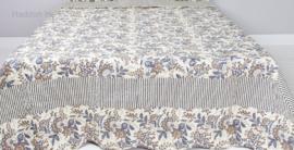 Q164 Clayre & Eef Bedsprei 140 x 220 cm Quilt Patchwork-style beddesprei