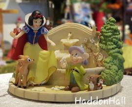 Snow White's Garden Fountain Disney by Lenox 868818