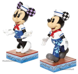 Mickey & Minnie Sailor Set van 2 Personality Pose H13,5cm