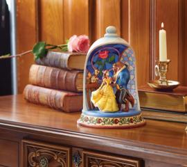 Belle & Beast Diorama  Jim Shore  6008995 Enchanted Love