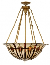 5509 Super grote Tiffany hanglamp Ø92cm