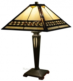 5671 TB20 Tafellamp Tiffany H54cm 36x36cm  Línur