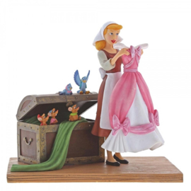 "CINDERELLA Figurine ""Such a Surprise"" H 17cm Enchanting Disney A29058"