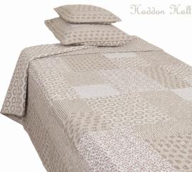 Q107 Clayre & Eef Bedsprei 260 x 260 cm Quilt patchwork beddesprei