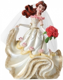 BELLE Wedding figurine H 20cm Showcase Haute Couture Disney 4045444