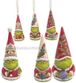 The Grinch Gnomes - Set van 3 beelden + 3 Hanging Ornaments - Jim Shore