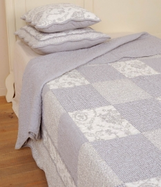 Q080 Clayre & Eef Bedsprei 230 x 260 cm Quilt Patchwork