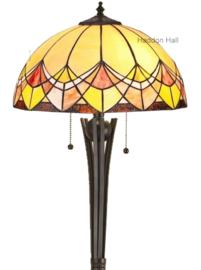 Tr1 TG08FB Vloerlamp Tiffany H158cm Ø40cm Sundance