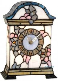 """9241 Tiffany lamp H26cm  """"Klok"""""""