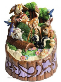 Bambi & Friends Carved by Heart H21cm Jim Shore 6010086