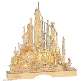 King Triton's Illuminated Palace H35cm Flourish Disney 6011061  juni 2021