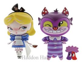 Alice & Cheshire Cat H18cm