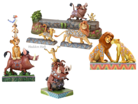 Lion King - Set van 4 Jim Shore beelden