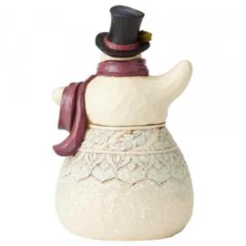 "Victorian Snowman H15cm ""Frosty Formailty"" Jim Shore 6004184"