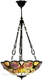 5546 FCL Hanglamp Tiffany Ø44cm Rosegarden