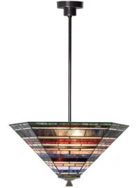 8127 Hanglamp Tiffany 56x43cm cm Industrial