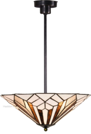 5896 Hanglamp Tiffany Ø40cm Astoria Brown