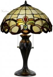 5764-5500 Tafellamp Tiffany H58cm Ø40cm