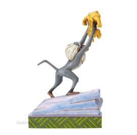 "Lion King  ""Heir to the Throne"" H20,5cm Jim Shore 4055415 Rafiki  Simba"