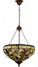 "5341 8842 Hanglamp Tiffany Ø51cm ""Druif"" motief"