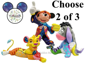 Set van 2 Romero Britto Statement Figurines