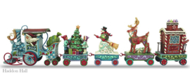 Mini Holiday Express  5-delig H9cm Jim Shore 4036686 uit 2013!
