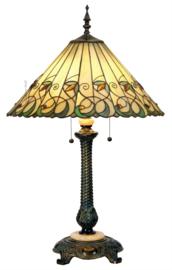 "T095L-5298 Tafellamp Tiffany H75cm Ø50cm ""Jamelia"" 5205"
