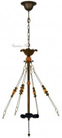 5767 Ophanging 4 Ketting voor Hanglamp omhoog schijnend 3xE27
