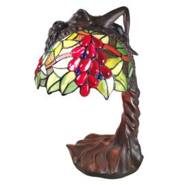 6018 Tafellamp H56cm met luifel