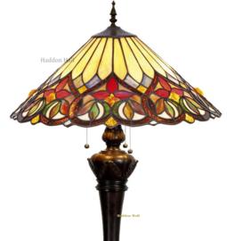 COT14 9459 Vloerlamp H164cm met Tiffany kap Ø52cm Sydän