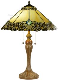 5824 Tafellamp Tiffany H65cm Ø45cm Rivoli