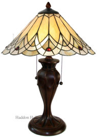 5186 Tafellamp Tiffany H58cm Ø40cm Hearst