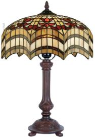 TG67S Tafellamp Tiffany H47cm Ø30cm Vesta