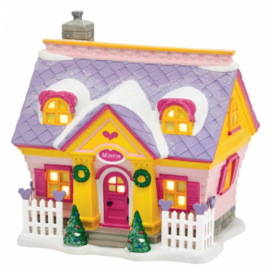 Minnie's House H15cm Village by D56 A30086
