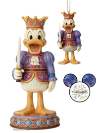 Donald - Set van 2 Nutckracers - Beeld + Hanging Ornament - Jim Shore