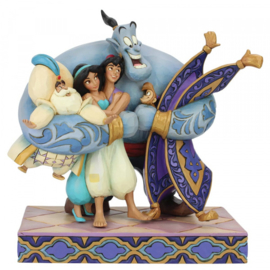 Aladdin Group Hug H20cm Jim Shore 6005967
