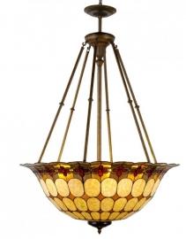 5401 Super grote Tiffany hanglamp Ø92 cm Victoria.