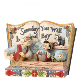"PINOKKIO Storybook ""Someday you will be a Real Boy""  Jim Shore 4057957"