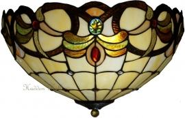 5764-80 Plafonniere Tiffany Ø40cm