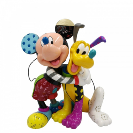 Mickey & Pluto Figurine H21cm Disnney by Britto 6007094