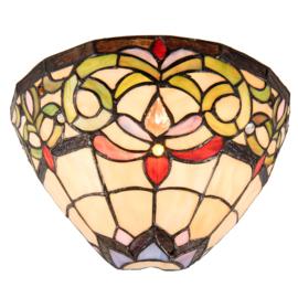 5910 Wandlamp Tiffany B 30cm Schelpmodel Norman.