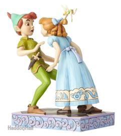 PETER PAN & WENDY  An Unexpected Kiss  H 19cm Jim Shore 4059725