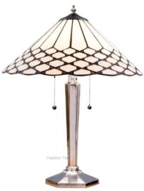 5887 Tafellamp Tiffany H55cm Ø40cm Wilson
