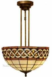 H66 Hanglamp Plafonniere Tiffany Ø40cm Bouquet