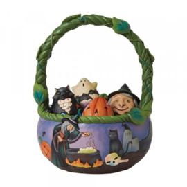 Halloween Basket -  - Jim Shore 6009602 pre-order due in june 2022