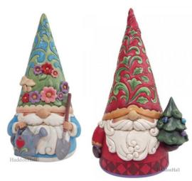 Statement Gnomes -H35 en 45cm! - Setr van 2 Jim Shore Beelden