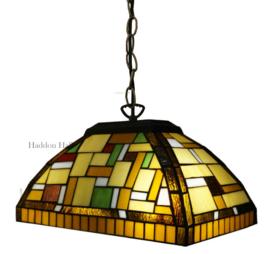 TT109 Hanglamp Tiffany B35cm Blok