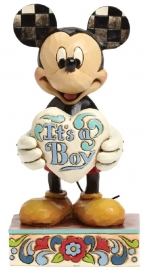 MICKEY  It's a Boy H 16 cm Jim Shore 4043663