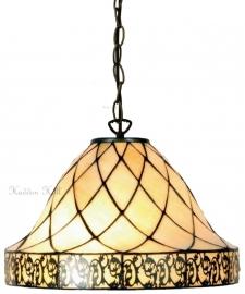 "5408 97 Hanglamp Tiffany Ø36cm ""Filigrees"" motief"